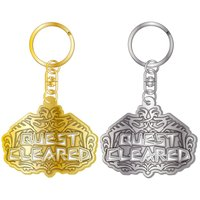 Monster Hunter: World Quest Cleared Stained Keychain