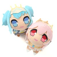 Kyun-gurumi Racing Miku Ver. 2015 x Super Sonico Huggable Plush Collection