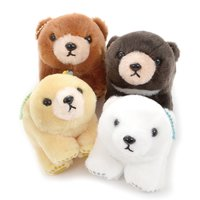 Marukuma Polar Ball Chain Bear Plush Collection