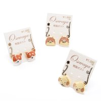 Osewaya Puppy Face Earrings
