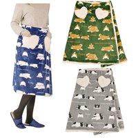 Nemu Nemu Animals Printed Wrap Skirt Blanket Series