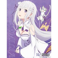 Re:Zero -Starting Life in Another World- Emilia Sublimation Throw Blanket