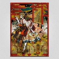 Sakura Panel Emaki Tapestry