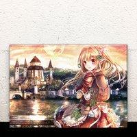 City of Falling Stars Acrylic Art Board