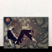 The Discipline Lasts All Night Acrylic Art Board