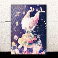 Space Girl Acrylic Art Board