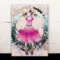 Hydrandea Hat Acrylic Art Board