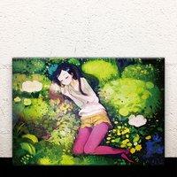 Among the Moss Acrylic Art Board