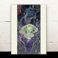 Hades Acrylic Art Board