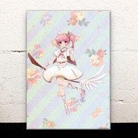 Magical Girl Pastel Acrylic Art Board