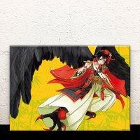 Karasu-Tengu Acrylic Art Board
