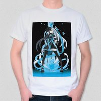 Who is Reflected in the Calm Surface of the Lake? T-Shirt White