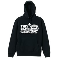 Pop Team Epic This Face Sucks Black Hoodie
