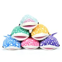 Mochi Puni Whale Shark Super Colorful Big Plush Collection