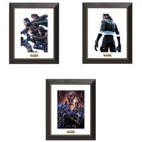 Gantz:O Chara Finegraph w/ Frame