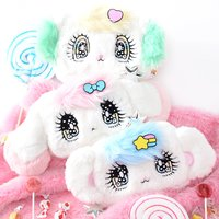 Peropero Sparkles Plush Face Pouches