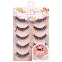 Haruka Shimazaki Vanilla Birthday Eyelashes No. 2: Bushy Volume