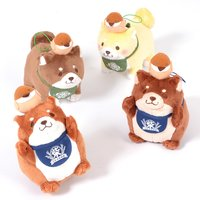 Chuken Mochi Shiba Sparrow Friend Plush Collection