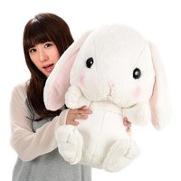 Pote Usa Loppy Shiloppy Rabbit Super Big Plush