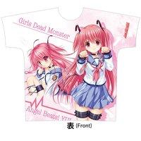 Angel Beats! Full Color Yui T-shirt (L)