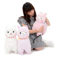 Alpacasso Pearl Ribbon Alpaca Plush Collection (Big)