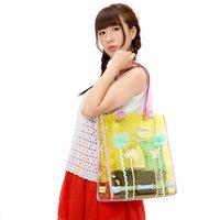 FLAPPER Palm Tree Transparent Bag