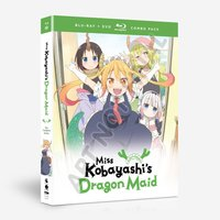 Miss Kobayashi's Dragon Maid: The Complete Series Blu-ray/DVD Combo Pack