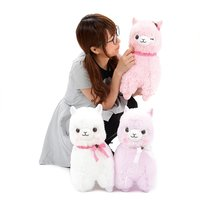 Alpacasso Girly Lace Ribbon Alpaca Plush Collection (Big)