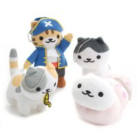 Neko Atsume Big Ball Chain Plush Collection Vol. 18