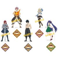 Fairy Tail Stand Pop Acrylic Figure Collection