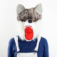 Werewolf Plush Mask