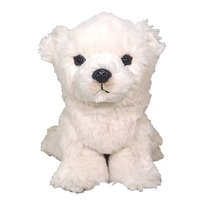 Fluffies Small Polar Bear Plush