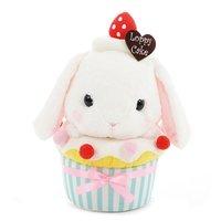 Pote Usa Loppy Shiloppy Cupcake Rabbit Plush (Big)