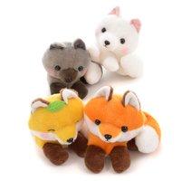 Kogitsune Konkon Plumed Tail Fox Standard Plush Collection