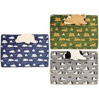 Nemu Nemu Animals Blanket in Cushion Series