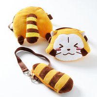 Rascal the Raccoon Plush Pouches