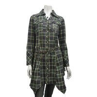 Rozen Kavalier Checkered Shirt