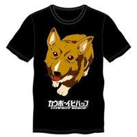 Cowboy Bebop Dog Men's Black T-Shirt