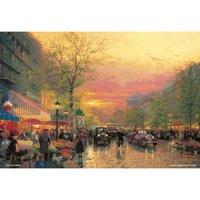Paris Twilight Jigsaw Puzzle