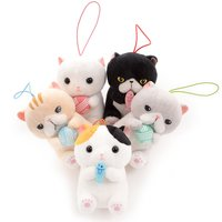 Jareteru Munchkin Cat Plush Collection (Mini Strap)