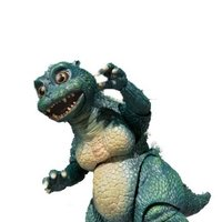 S.H.MonsterArts Little Godzilla and Crystal Set (Bluefin/Tamashii Web Exclusive Ver.)