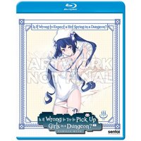 Is It Wrong to Expect a Hot Spring in a Dungeon?! Blu-ray