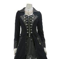 Ozz Oneste Garter Design Coat