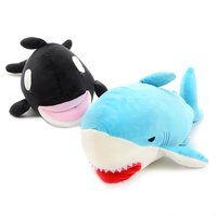 Mochi Mochi Biting Shark & Orca Plush Collection