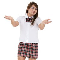 Josou Man Ikeike School Girl Cosplay Outfit Set