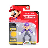 "World of Nintendo: Super Mario - Waluigi 4"" Figure"