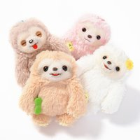 Namakemono no Mikke Mattari Hi Sloth Plush Collection (Ball Chain)