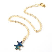 Osewaya Celestial Puzzle Piece Necklace