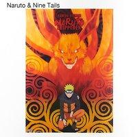 Naruto Clear Posters (Naruto & Nine Tails, Sasuke & Susanoo)