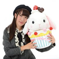 Pote Usa Loppy Shiloppy Cupcake Rabbit Plush (Big)